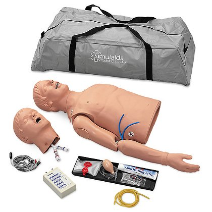 Simlaids Complete ALS Torso with Carry Bag