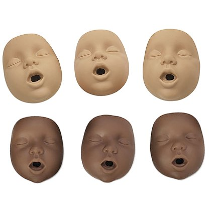 Simulaids Kim Newborn CPR Manikin Mouth/ Nose Piece, 10 Pack