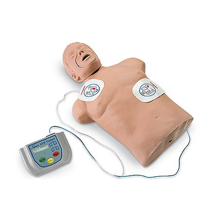 Simulaids Life/Form AED Trainer Package with CPR Brad