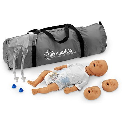 Simulaids Kim Newborn CPR Manikin with Carry Bag