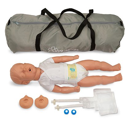 Simulaids Kevin, 6 to 9 Month CPR Manikin, with Carry Bag