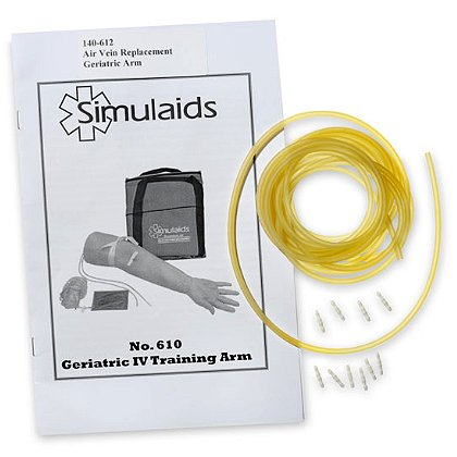 Simulaids Geriatric IV Arm Replacement Veins