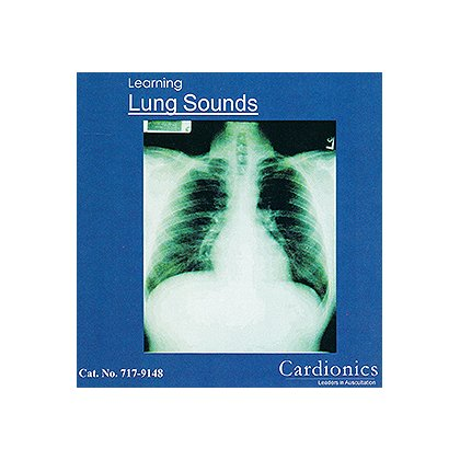 Simulaids Learning Lung Sounds CD-ROM