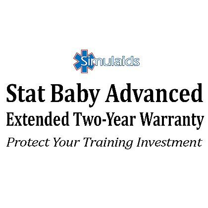 Simulaids Extended Warranty for STAT Baby Advanced