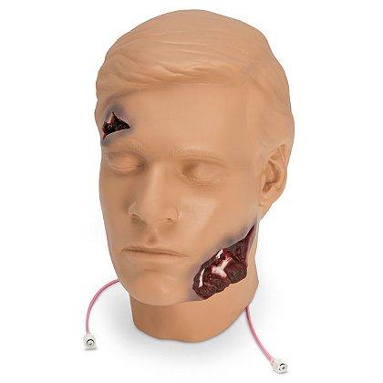 Simulaids Trauma Randy Head Flash Moulage