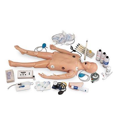Simulaids Deluxe Child CRiSis™ Manikin with ECG Simulator