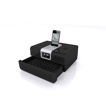 GunVault Biometric Radio Vault, Black