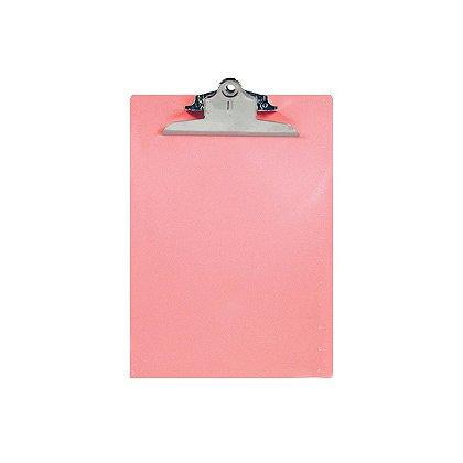 Saunders Plastic Clipboard, Pink