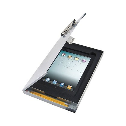Saunders Tuff Writer for iPad 2/3, Silver Aluminum