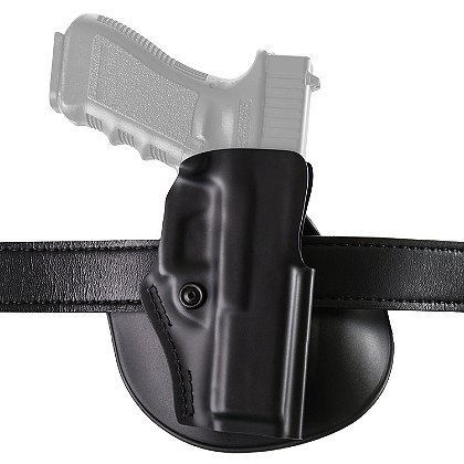 Safariland Model 5198 Open Top Concealment Paddle/Belt Loop Holster with Detent