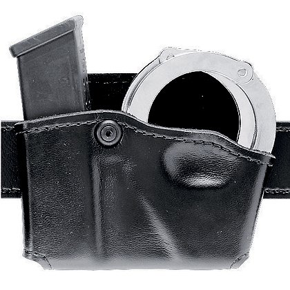Safariland Model 573 Open Top Single Magazine and Handcuff Pouch