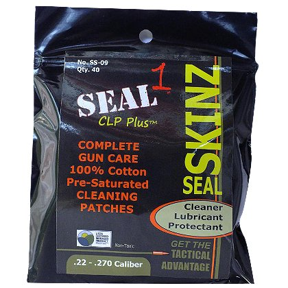 Seal Skinz Pre-Saturated Bore Cleaning Patches