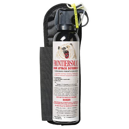 SABRE Red Frontiersman Bear Spray with Belt Holster