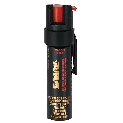 Sabre Pocket Pepper Spray Unit with Clip