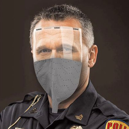 SABRE ReadiMask with Eye Shield