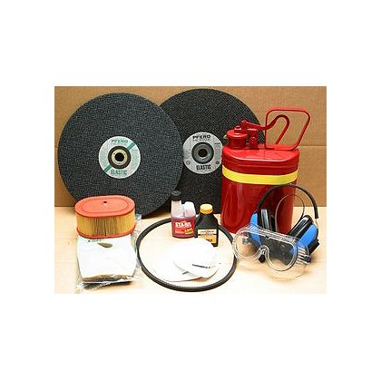 Fire Hooks Unlimited Partner Saw Field Kit, 2 Abrasive Blades