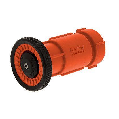 Scotty Twist-to-Shut-Off Fog/Straight Nozzle, Orange