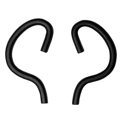 Silynx Ear Hook Retainers, Black, 50 pairs