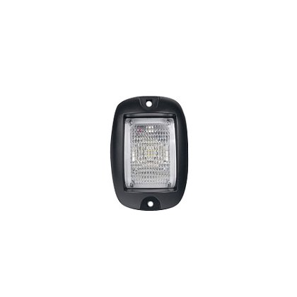 SoundOff Signal Mighty Night Light, 330 Lumen Surface Mount, 45 Degree Flood Lens