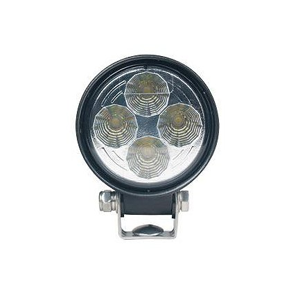 SoundOff Signal LED Work Light, Flood Pattern, 500 Lumen, 3.3� Round