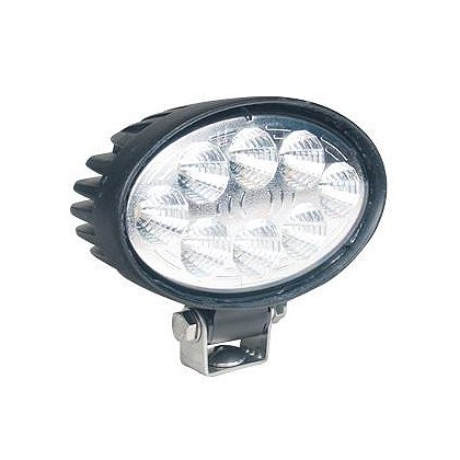 SoundOff Signal LED Work Light, Flood Pattern, 5.6� Oval, 700 Lumens