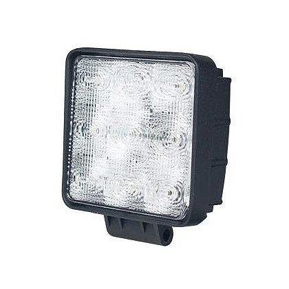 SoundOff Signal LED Work Light, Flood Pattern, 4.6� Square, 900 Lumen