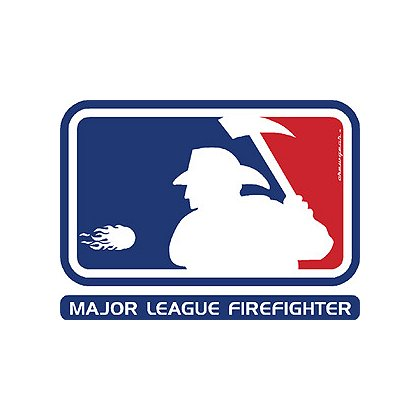 TheFireStore Exclusive Major League Firefighter Decal