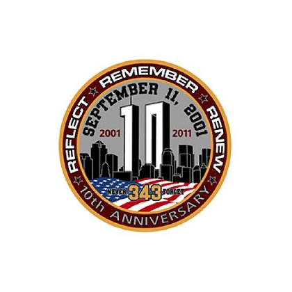 TheFireStore Exclusive Remember, Reflect, Renew Challenge Coin Decal