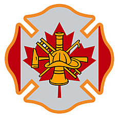 Firefighter Angel -> HIGHLY REFLECTIVE <- Durable Fire Helmet Sticker -  Decal (window