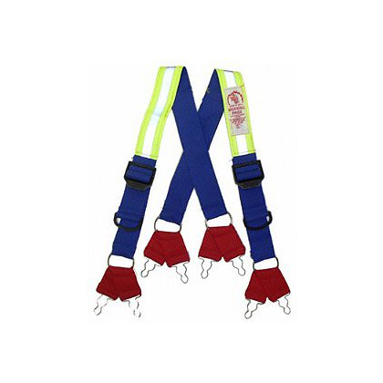8 Point Dyna-Fit Suspenders, Quick Adjust Feature