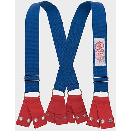 Honeywell Morning Pride Dyna-Fit Suspenders with Snap Attachment