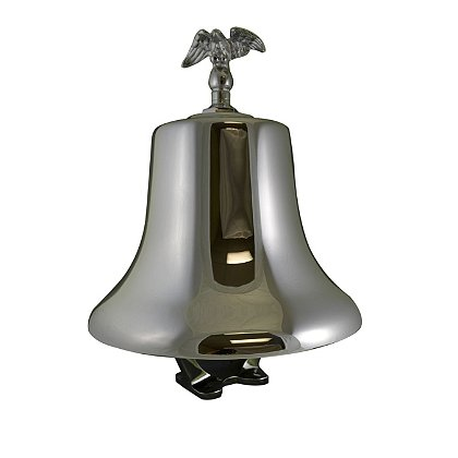 South Park Corporation  Chrome Plated Finish Fire Bell with Electric Striker, Eagle & Hardware