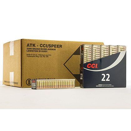 CCI Mini-Mag HV, .22LR, 36 grains, Case of 5000