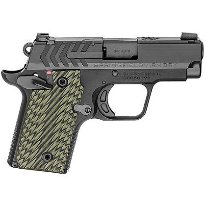 Springfield Armory Model 911 .380 ACP Pistol, Black