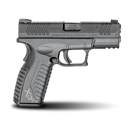 "Springfield Armory 3.8"" Black XD(M)® .40 S&W Full-Size Pistol"