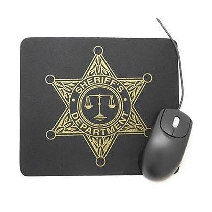 Sheriff's Department Star Mouse Pad