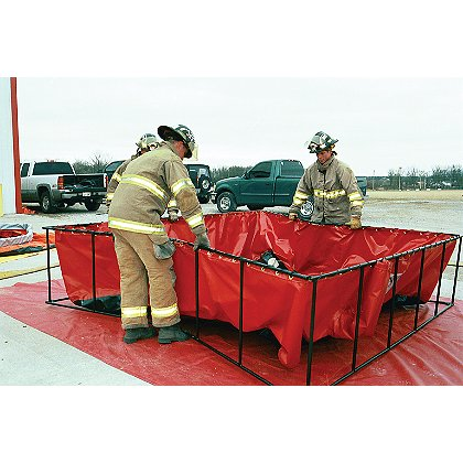 Husky Steel Frame Folding Water Tank