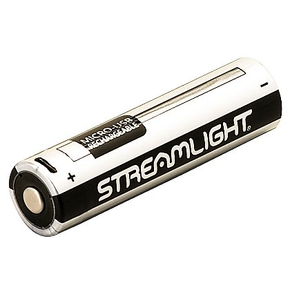 Streamlight 18650 USB LI-ION Battery with Integrated Charge Port