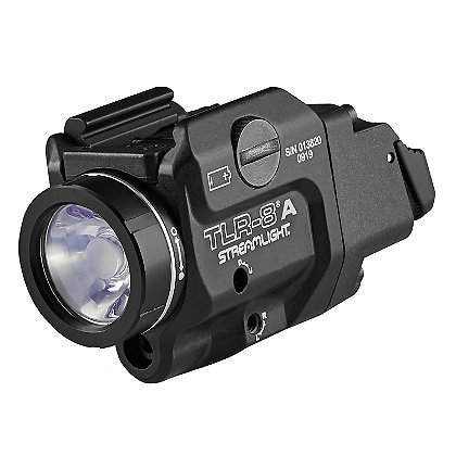 Streamlight TLR-8AH Compact Rail Mounted High Switch Tactical Light with Red Laser Sight