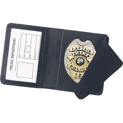 Strong Side Open Badge Case- Duty Style