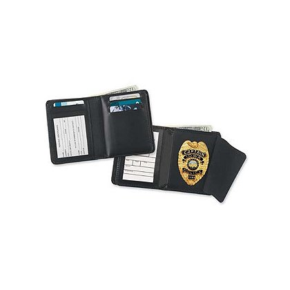 Strong Credit Card Hidden Badge Wallet