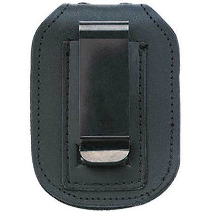Strong Single Thick, Recessed Badge Holder for Belt