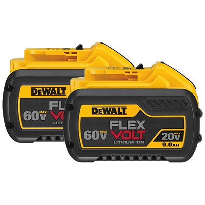 Super Vac DeWalt 9AH FlexVolt Replacement Battery