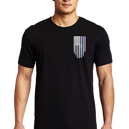 Thin Blue Line USA Thin Blue Line Flag Short-Sleeve T-Shirt