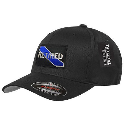 Thin Blue Line USA FlexFit Retired Hat