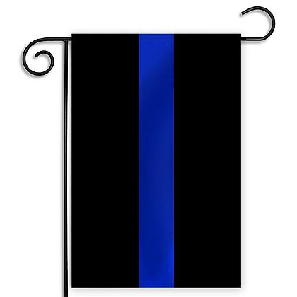 Thin Blue Line USA Thin Blue Line Garden Flag 12.5