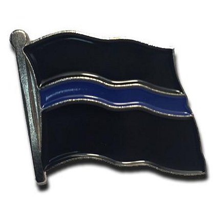 Thin Blue Line USA Thin Blue Line Flag Pin