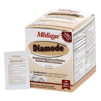 Medique Diamode Antidiarrheal Tabs