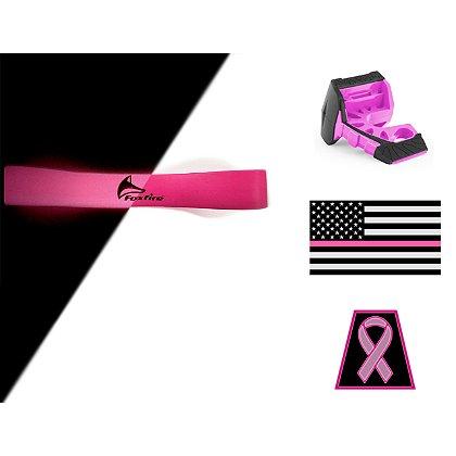 TheFireStore Exclusive Breast Cancer Awareness Deluxe Helmet Accessory Kit