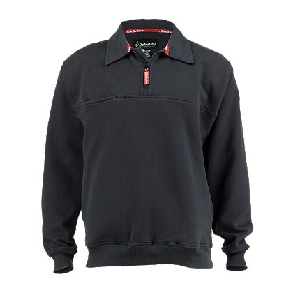 TheFireStore Exclusive Cotton Twill Collared Job Shirt, Dark Navy